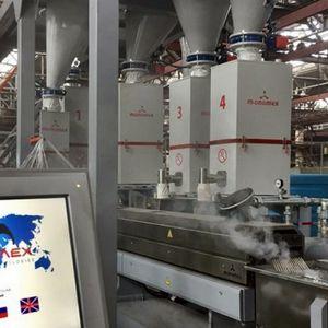 гравиметрический дозатор для пластмассообрабатывающей промышленности