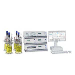параллельный биореактор / для лабораторий / для процесса / настольный