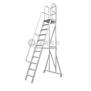 выдвижная лестница из алюминия