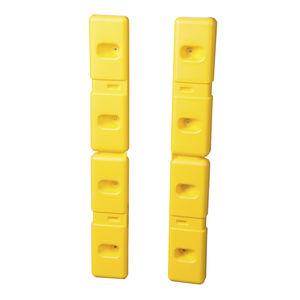 защита стен из полиэтилена высокой плотности