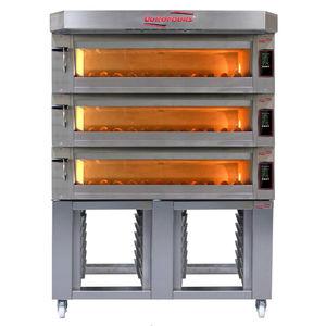 печь для пищевой промышленности с подвижным очагом