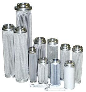 фильтрующий элемент для растворителя / для микрофильтрации / из нержавеющей стали