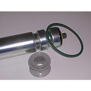 конвейерный ролик с ременной передачей / из оцинкованной стали