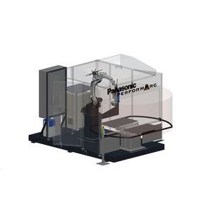 роботизированная ячейка для дуговой сварки