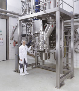 осушитель мешалка / вакуумный / батч / для химической промышленности