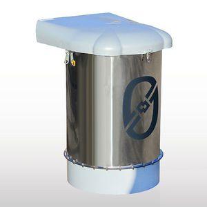 фильтровальная установка давление / пыль / из нержавеющей стали