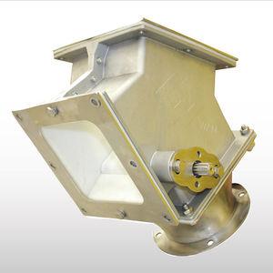 секционный клапан для пневматической транспортировки