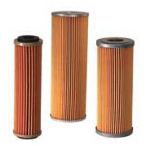 фильтрующий элемент для газа / для микрофильтрации / из бумаги / складчатый