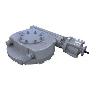привод для клапана со шнеком