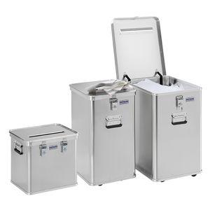 мусорный контейнер из алюминия