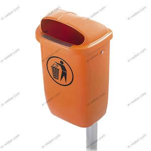 мусорный контейнер из ПЭНД