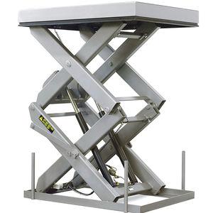 двойной ножничный подъемный стол