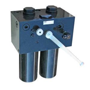 картер для фильтра с картриджем / для масла / из стали / для использования при высоком давлении