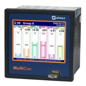 индикатор и контроллер для измерения температуры