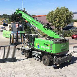 мобильный башенный кран / со стрелой / выдвижной / для строительной площадки