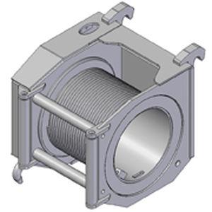 электрическая лебедка / для причаливания / компактная / с вращающимся барабаном