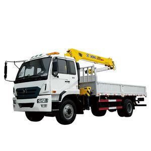 башенный кран на грузовике / со стрелой / телескопический / для строительства