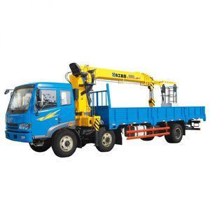 башенный кран на грузовике / телескопический / для строительной площадки / для фасада здания