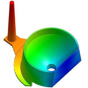 программное обеспечение моделирования формования под давлением