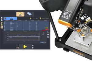программное обеспечение для контроля / для управления процессом / устройство контроля замеров / автоматизированное