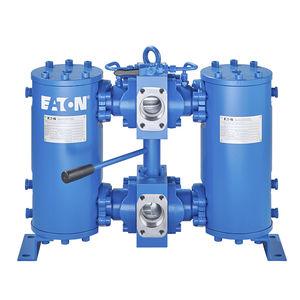 жидкостный фильтр / с двойной корзиной / давление / 2 уровня