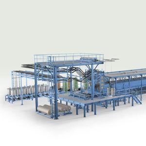 производственная линия блоки гибкой пены PUR / непрерывного действия