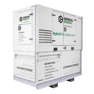 гибридная генераторная установка