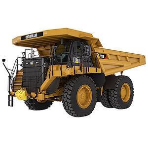 думпер жесткое крепление / дизельный / для шахт и карьеров / вездеход
