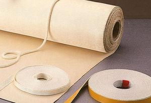 волокно из оксида алюминия / из ткани / для термоизоляции