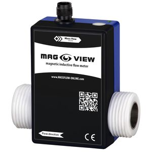 электромагнитный расходомер / для жидкостей / компактный / 4-20 мА