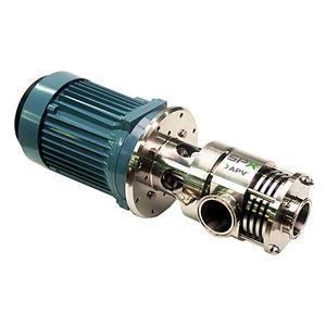 мешалка ротор-статор / в ряд / для жидкостей / для молочной продукции