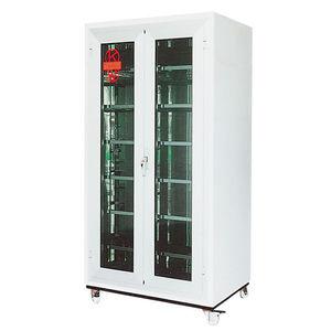 шкаф для хранения / напольный / двойная дверь / с полками