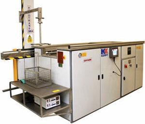 очистительная установка для воды / ультразвуковая / автоматическая / для авиационной промышленности