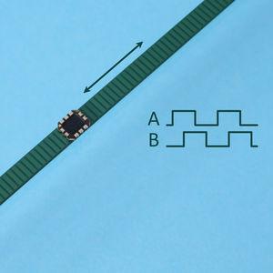 инкрементальный линейный энкодер
