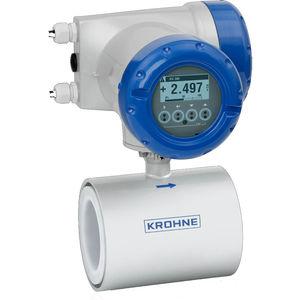 электромагнитный расходомер / для воды / для сточных вод / для проводящей жидкости