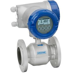 электромагнитный расходомер / для воды / для химических продуктов / для сточных вод