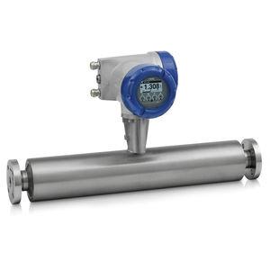 массовый расходомер / с эффектом Кориолиса / для жидкостей / для газа