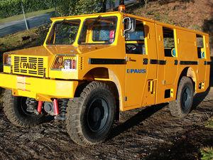 дизельный грузовой автомобиль / многофункциональный / для подземной шахты / фургон