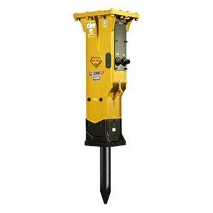 гидравлический отбойный молоток / для средней подпорной стойки / вертикальный / малошумный