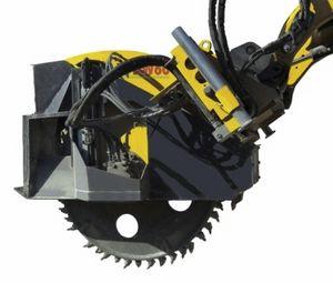 шпонострогальный станок с колесом / для гидравлического экскаватора