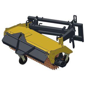 подметальная машина для трактора / гидравлическая / компактная