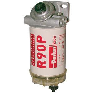 фильтр для воды / топливный / с картриджем / выровненный