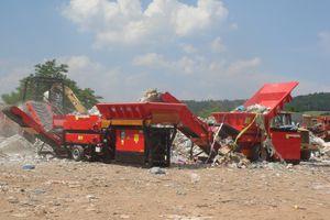 устройство для переработки строительные отходы