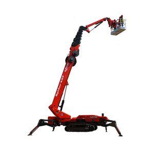 гусеничный телескопический подъемник-паук / самоходный / гусеничный / электрический