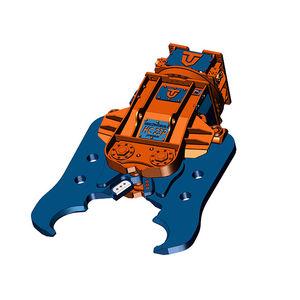 ножницы для разрушения конструкций для экскаватора / ротационный / гидравлический / для зданий