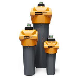 фильтр для сжатого воздуха / с картриджем / высокая пропускная способность / для процесса