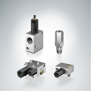 клапан для балансировки / поршневый / с гидравлическим приводом / для регулировки давления