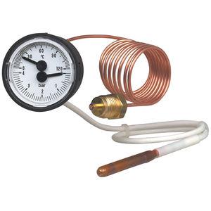 манометр-термометр со шкалой