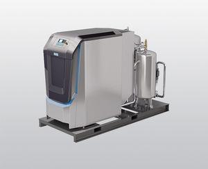 компрессор охлаждаемый воздухом / гелиевый / стационарный / с электродвигателем