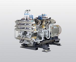 компрессор охлаждение водой / воздушный / для азота / для природного газа